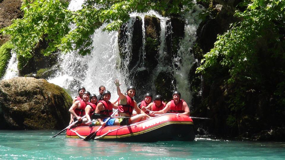 rafting (raph ici)